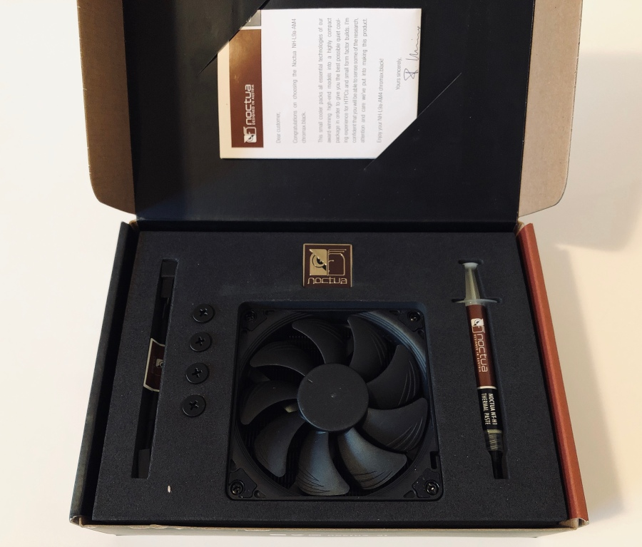 Noctua NH-L9a-AM4 Chromax